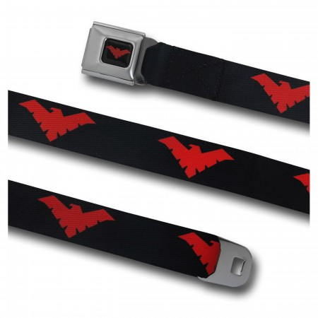 Nightwing Red Symbol Seatbelt Belt