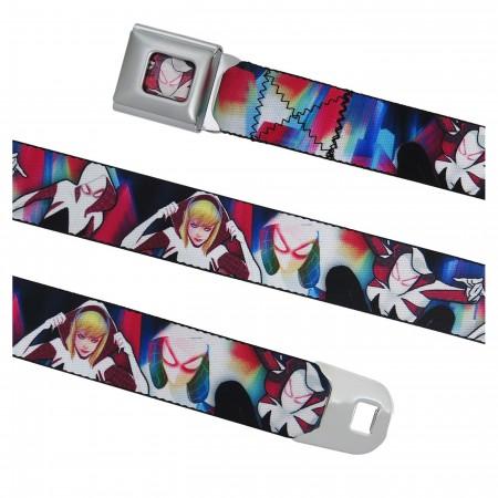 Spider-Gwen Poses Seatbelt Belt