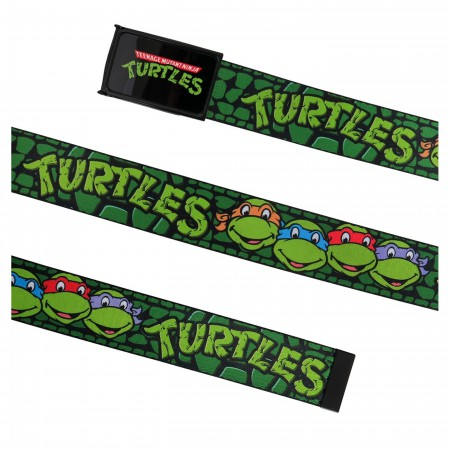 TMNT Teenage Mutant Ninja Turtles Heroes in a Half Shell Web Belt