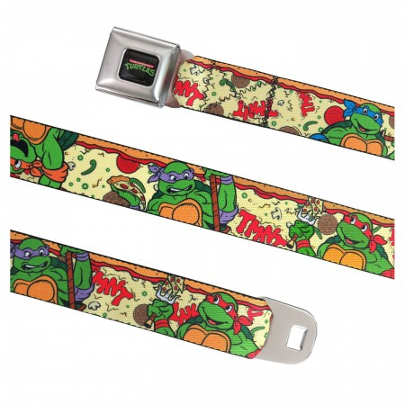 TMNT Pizza Party Seatbelt Belt