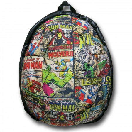 Marvel Comic Sublimated Dome Backpack