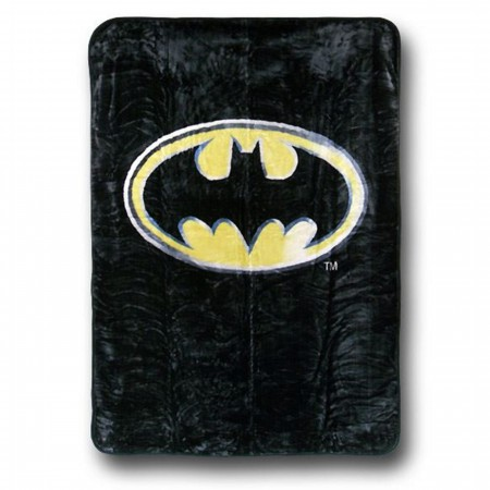Batman Symbol Queen Blanket