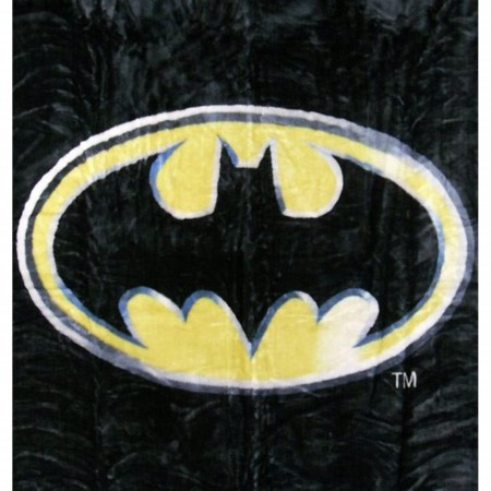 Batman Symbol Twin Blanket