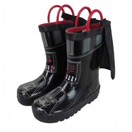 Star Wars Darth Vader Kids Rain Boots