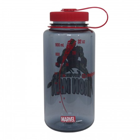 Iron Man Nalgene Tritan 32oz Water Bottle