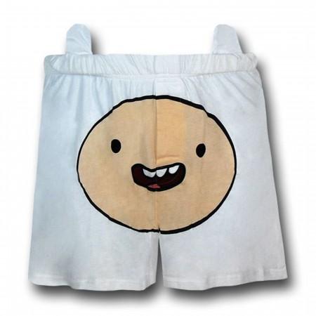 Adventure Time Finn Face Boxers
