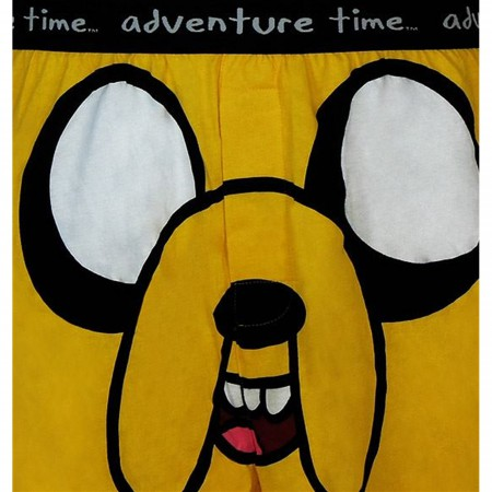 Adventure Time Jake Face Boxers