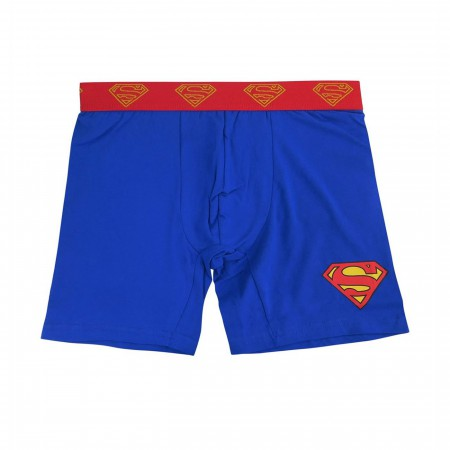 Superman Symbol Men's Underwear Fashion Boxer Briefs