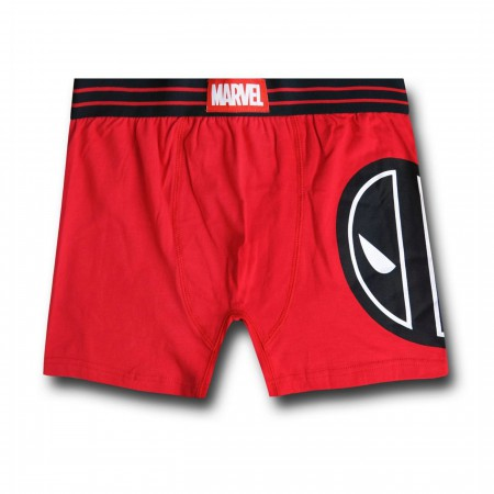 Deadpool Face Men's Boxer Briefs