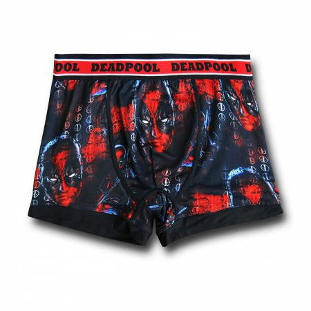 Deadpool Sublimated Men's Boxer Briefs
