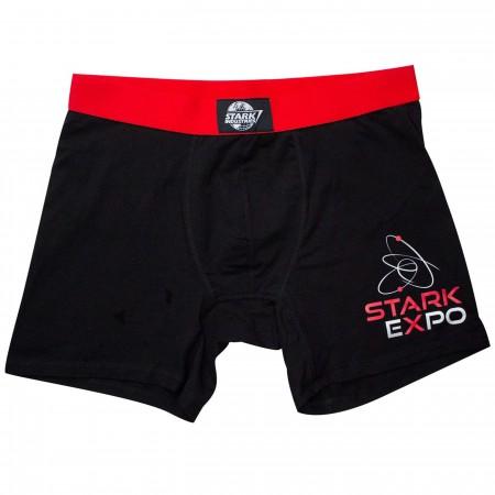 Iron Man Stark Expo Men's Underwear Boxer Briefs