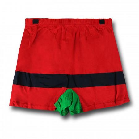 Robin Caped Costume Boxer Shorts