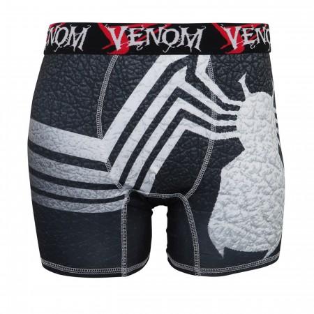 Venom Symbol Poly/Spandex Men's Boxer Briefs