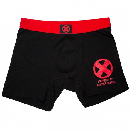 X-Men Property of Xavier School Men's Underwear Boxer Briefs
