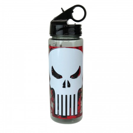 Punisher Symbol 20oz Water Bottle