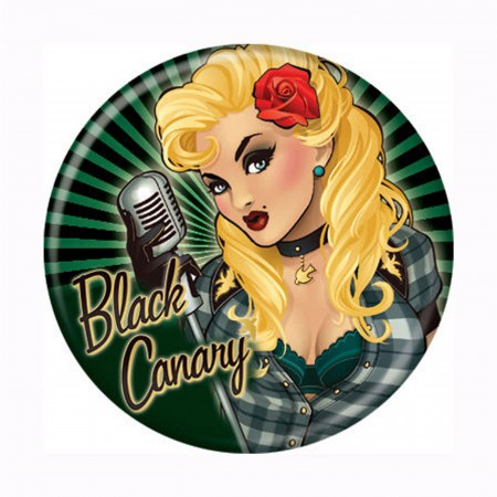Black Canary Bombshells Button