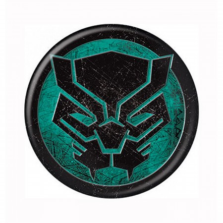 Black Panther Icon Symbol Button