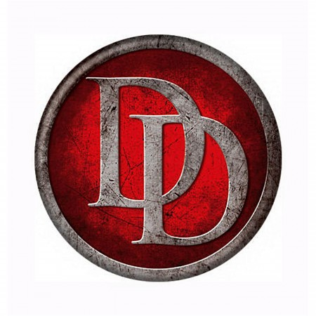 Daredevil Icon Symbol Button