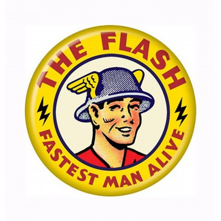 Flash Jay Garrick Button