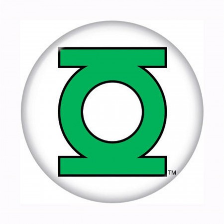 Green Lantern Button Symbol