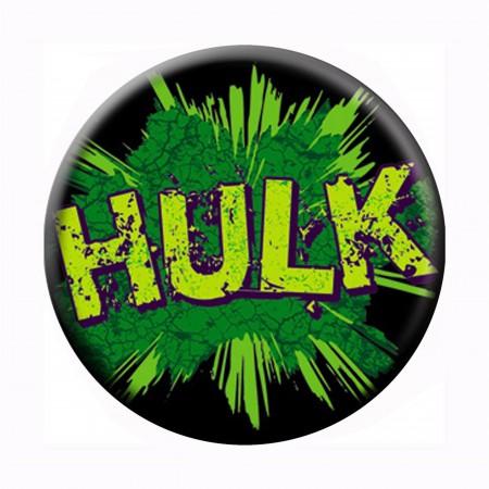 Hulk Logo Button