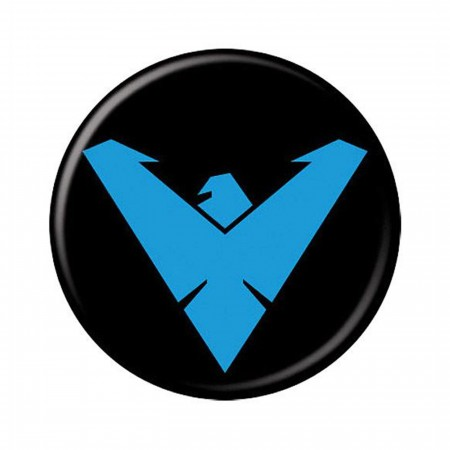 Nightwing Symbol Button