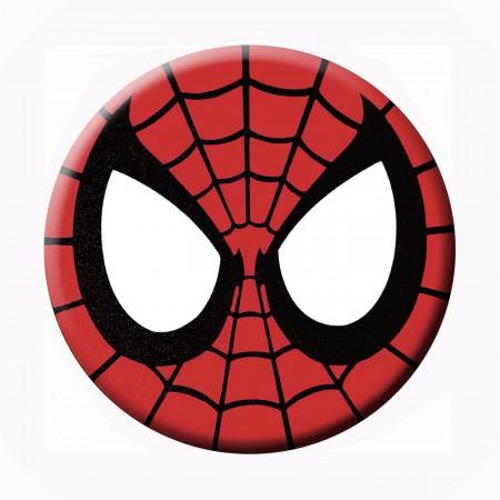 Spiderman Mask Button