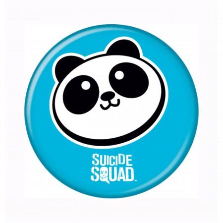 Suicide Squad Panda Button