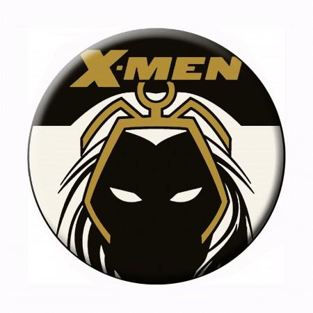 X-Men Storm Line Art Button
