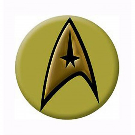 Star Trek Command Insignia Button