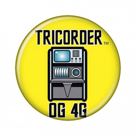 Star Trek Tricorder Button