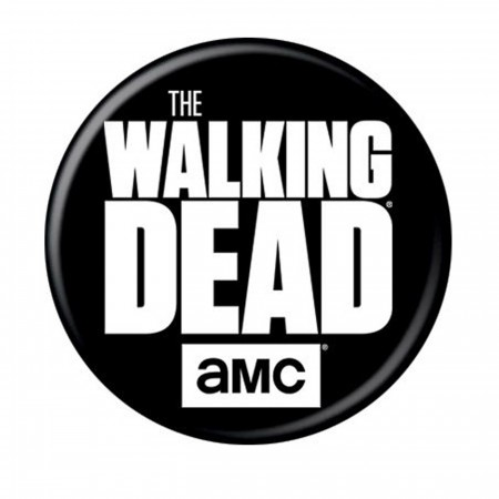 Walking Dead Logo Button