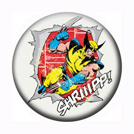 Wolverine Snikt Ripper Button