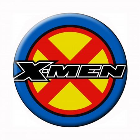 X-Men Logo Button