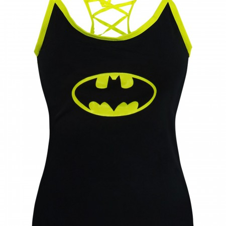 Batman Women's Glow in Dark Camisole and Panty Set