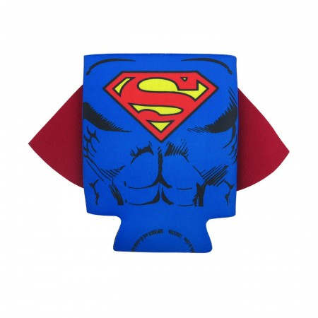 Superman Caped Can and Bottle Cooler