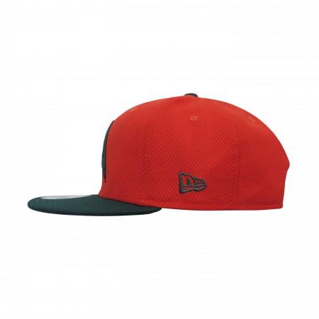 Aquaman Symbol Orange 9Fifty Adjustable Hat