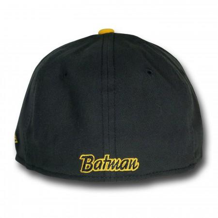Batman Black & Yellow 59Fifty Hat