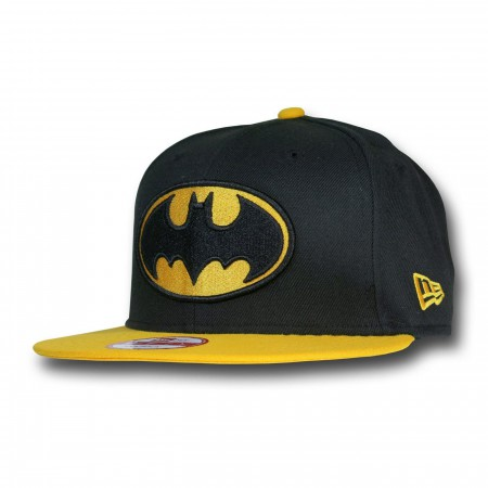 Batman Black & Yellow 9Fifty Snapback Hat