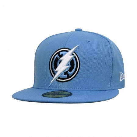 Blue Lantern Flash Symbol 59Fifty Fitted Hat