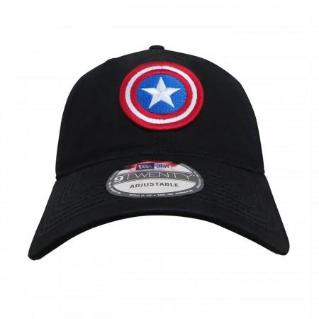 Captain America Shield Black 9Twenty Adjustable Hat