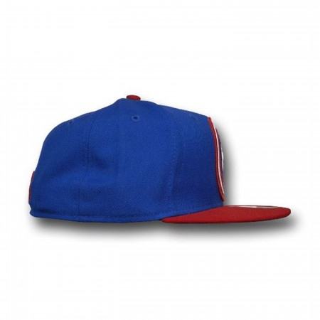 Captain America Target Shield Flat Bill 59Fifty Cap