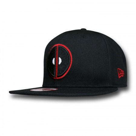 Deadpool Symbol Black 9Fifty Cap