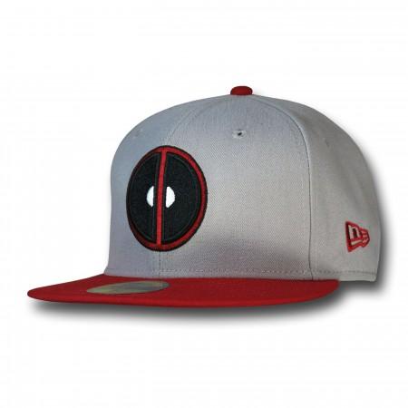 Deadpool Symbol Grey 59Fifty Cap