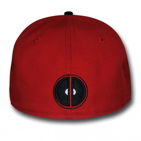 Deadpool Symbol Red & Black 59Fifty Cap
