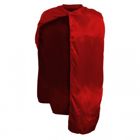 Adult Costume Red Hero Cape