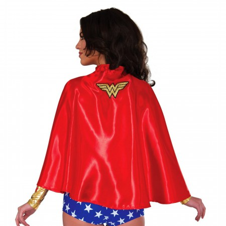Wonder Woman Symbol Cape