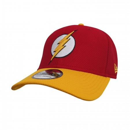 Flash 39Thirty Red & Yellow Baseball Hat