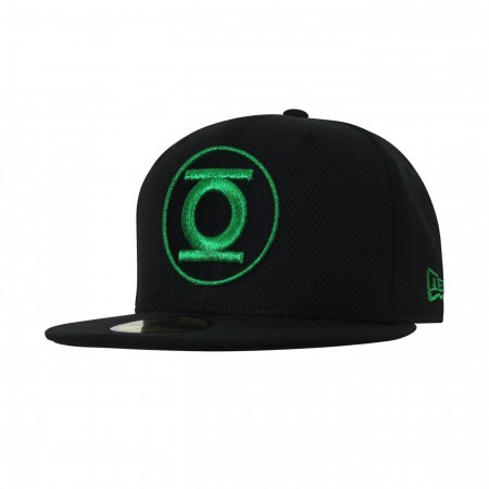 Green Lantern John Stewart Symbol 59Fifty Fitted Hat
