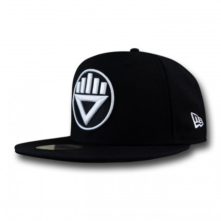 Black Lantern Symbol 59Fifty Cap